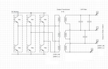 output-ups-circuit